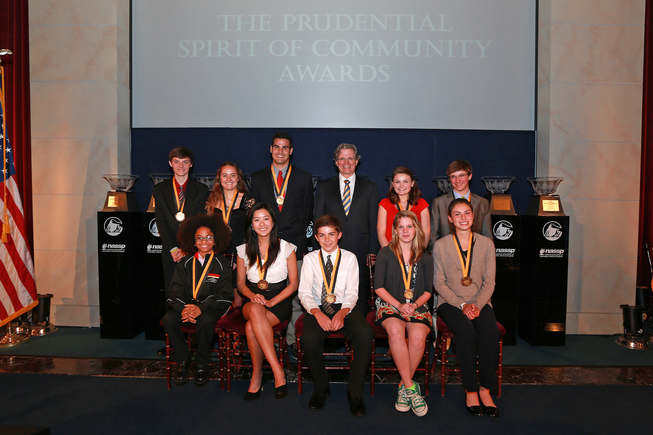 2013 Prudential Spirit of Community Awards.
