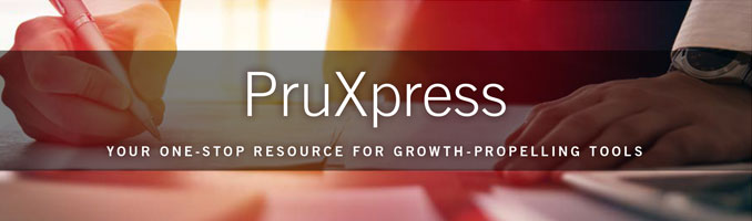 PruXpress Your One-Stop Resource for Growth-Propelling Tools