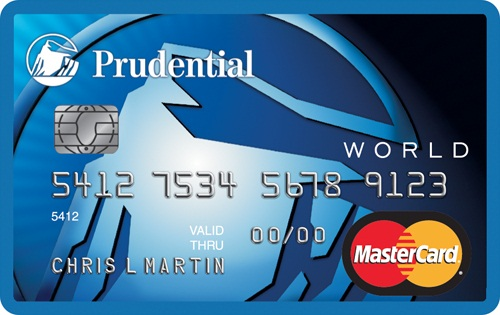 Prudential Credit Card Sample
