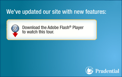 Download the Adobe Flash® plugin to watch this tour.