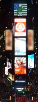 Prudentials images at Times Square