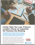 Finance Leaders Interested in Pension De-Risking