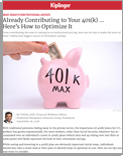 How to Optimize Your 401(k)