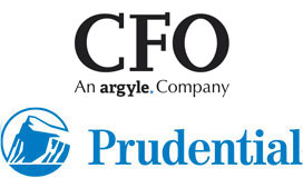 CFO Research and Prudential logos