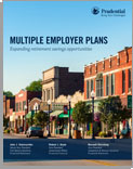 Multiple Employer Plans - Expanding Retirement Savings Opportunities
